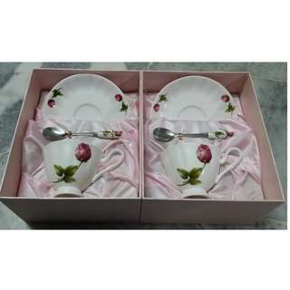 Zyenn Fine China tea set