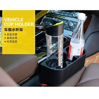 Universal Portable Car Seat Drink Cup Holder Organizer
