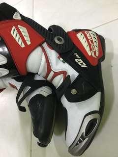 Forma Ice race boots, Dainese Alpinestar