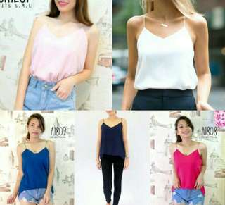 Cami Tops (3) and Knitted top (1) Bundle Tops Promo 💕