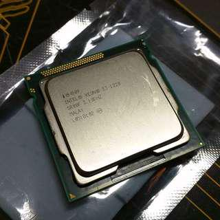 Intel Xeon Processor E3-1220 for Sandy/Ivy Bridge - 8M Cache, 3.10 GHz (Tested)