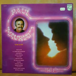 On Hold: Paul Mauriat  - C'est La Vie vinyl record