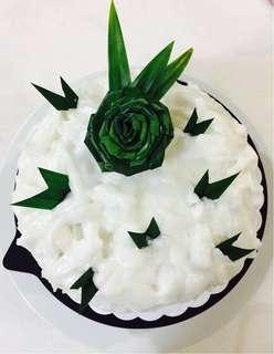 Coconut Pandan Paradise Cake