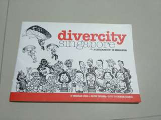 Book - Divercity Singapore: A Cartoon History of Immigration Book