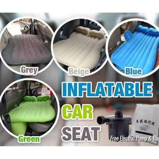 INFLATABLE CARBED (INFLATABLE + 2 PILLOW + 1 BAG + 1 2WAY PUMP)