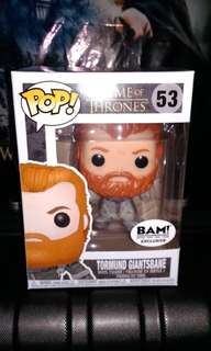 Tormund Giantsbane Snowy Exclusive Game of Thrones Funko Pop
