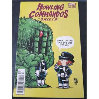 Howling Commandos of S.H.I.E.L.D. #1B