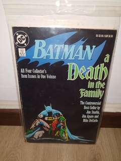 DC Comics Batman A Death In The Family