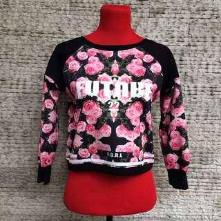 f31 inspired neoprene pullover