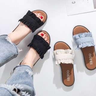 casual slipper sandal