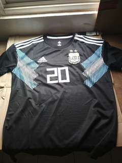 Jersey go argentina away world cup 2018