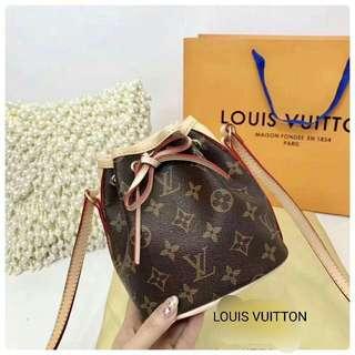 Lv/Louis Vuitton mini drawstring semi premium