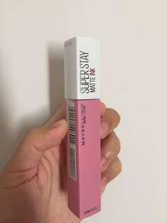 Maybelline super stay matte ink (lip cream matte) jual murah!