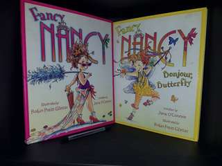 Fancy Nancy Hardbound Full Color Bundle of 2