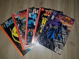 DC Comics Batman A Lonely Place Of Dying