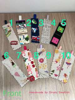Assorted Fabric Bookmark