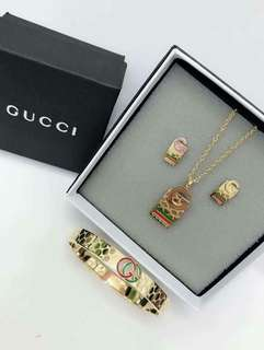 3in1 Set Gucci Chanel LV Cartier Tiffany&Co.