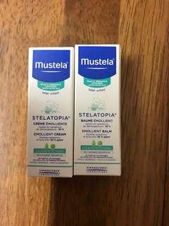 Mustela Cream 2支