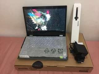 """LENOVO YOGA 520-14IKB-81C800-8MID-I5-8250U-RAM 8GB- HDD 1TB 14"""" BLACK"""