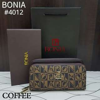 PROMOTION ❤️  BONIA DOUBLE ZIP WALLET  #4012