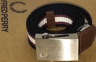 Authentic FRED PERRY Belt (Steel Buckle)