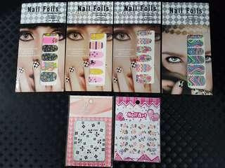Nail art foil & sticker