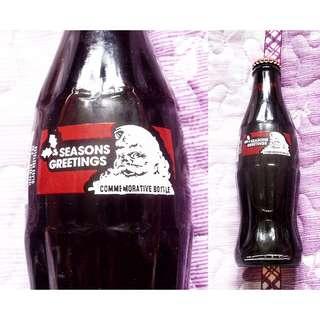 94美國聖誕版可口可樂玻璃樽一枝