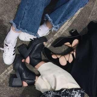 Adorable Project Block Heels