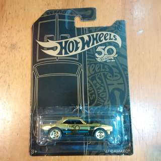 Hotwheels 67 Camaro LTD chase car