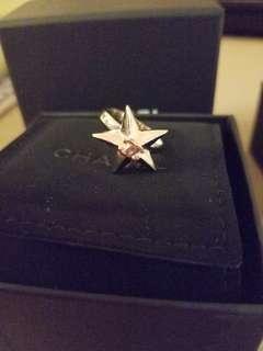 Brand new chanel star ring