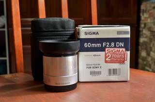 Sigma Art 60mm f2.8 E-mount