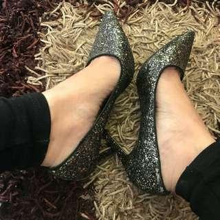 Pull&Bear glitter heels