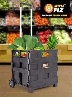 LITTLE FIZ Foldable Shopping Cart