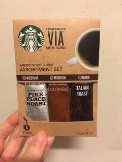 Starbucks 即沖咖啡3包
