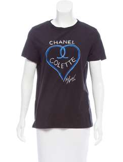 Chanel tee black size s and size M 100% real