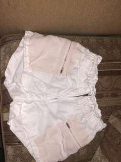 Wilfred Artizia White Shorts