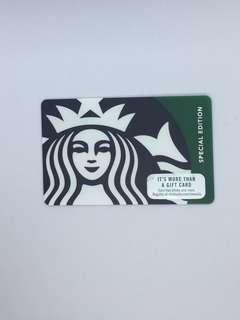 Starbucks Green Siren Card (Deactivated)