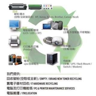 95871017現金回收碳粉 回收全新碳粉 回收影印機 回收電腦 回收手提電腦 回收平板電腦 回收IT器材