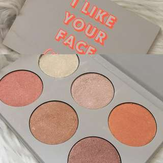 Colourpop I Like Your Face Highlighter Palette
