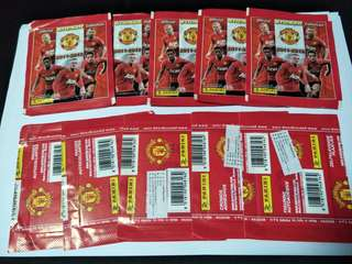 Panini man utd 2011-2012 stickers