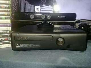 Xbox 360 250gig - Kinect - Games