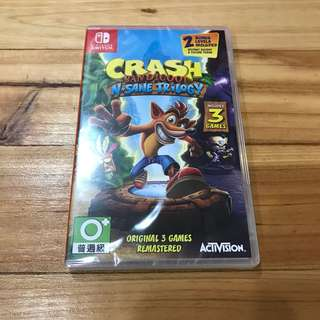 NS Crash Bandicoot N Sane Trilogy