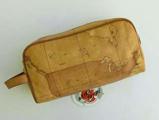Alviero Martini Toiletries  Clutch Bag