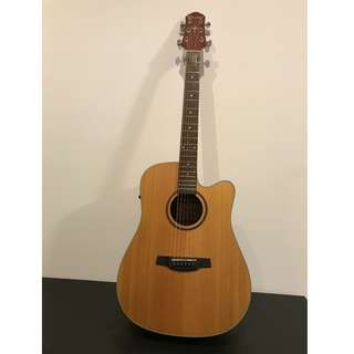 Crafter  HDC 200EQ Acoustic Guitar