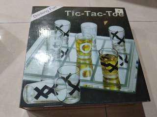 Tic tac toe shotglasses