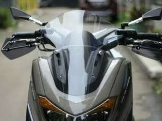 Windshield NMAX clear sporty