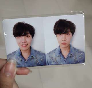 (wts) BTS Jhope Love Yourself Tear R PC
