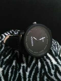 Rosivga Matte Black Watch