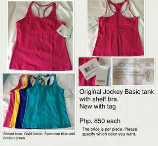 Jockey basic tank top