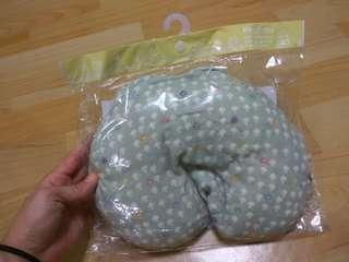 🚚 (降價出清) Hoppetta 蘑菇多功能嬰兒枕(水藍)